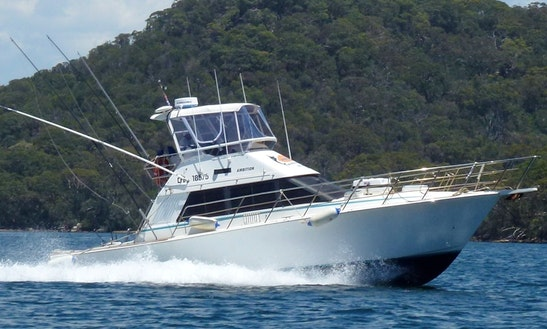 Enjoy Fishing From Watsons Bay, Sydney, New South Wales On 38' Sport Fisherman