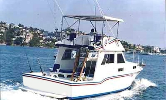 36' Sport Fishing Yacht In Acapulco