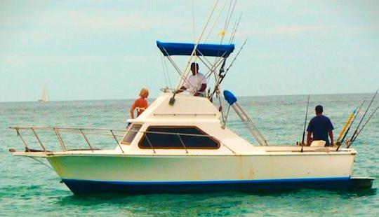 Enjoy Fishing In San José Del Cabo, Mexico On 33' Lurs Cuddy Cabin