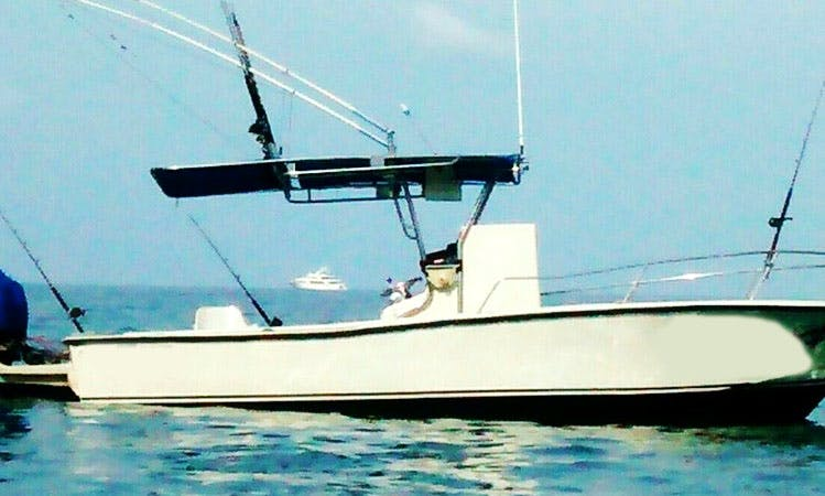 Exciting Fishing Trip in Puerto Vallarta on 24ft Mako Center Console with Captain Victor