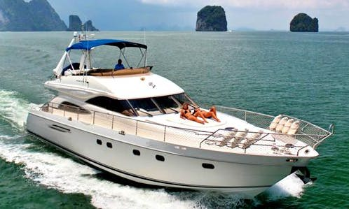 Charter 65' Princess Power Mega Yacht in Ko Samui, Thailand
