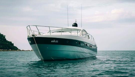 Charter 50' Pershing Power Mega Yacht In Ko Samui, Thailand
