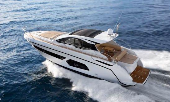 Charter 43' Azimut Motor Yacht In Ko Samui, Thailand