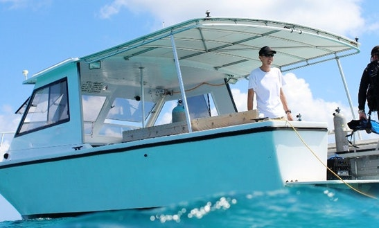 Scuba Diving Trip Boat In Abaco, The Bahamas