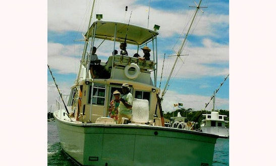 Deep sea fishing charter in hope town bahamas getmyboat for Fishing boat rentals near me