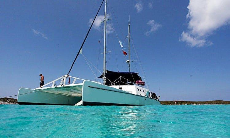 "Week long Cruise Only - 65' ""Cat Ppalu"" Cruising Catamaran"