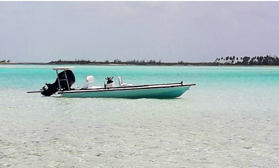Enjoy Fishing In Exuma, The Bahamas On Center Console