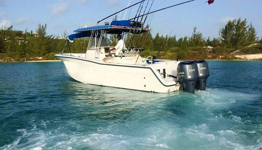 Caicos Islands Fishing Charter On 32ft Grady White With Captain Codney