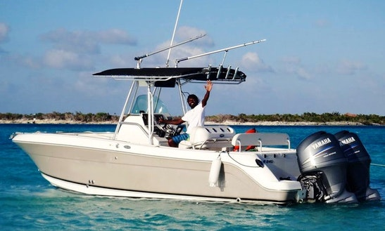 36ft Center Console Boat Fishing Charter In Caicos Islands, Turks And Caicos Islands