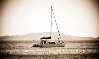 "Private Tour on 37ft ""Mantaray"" Sailing Catamaran in Flamingo, Costa Rica"