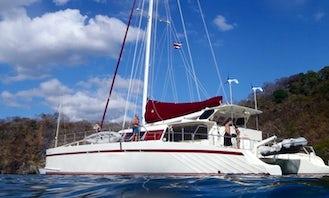 """New Marlin"" 65ft Sailing Catamaran in Playa del Coco"