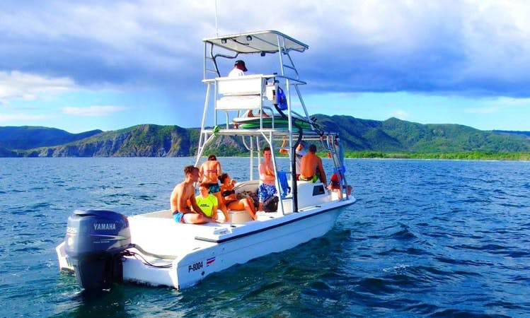 "Exciting Fishing and Boat Trips on 28ft ""La Charanga"" Angler Boat in Coco, Guanacaste"