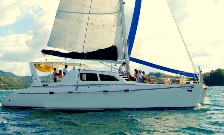 "Charter 46ft ""Panache IV"" Cruising Catamaran In Playa Flamingo, Costa Rica"