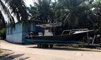 Enjoy Fishing in Kota Bharu, Malaysia on Center Console