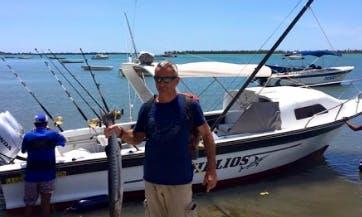 Enjoy Fishing in Rivière Noire, Mauritius on Cuddy Cabin