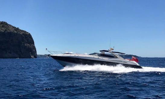 Sunseeker Predator 58 Motoryacht Skippered Charter In Palma De Mallorca, Spain