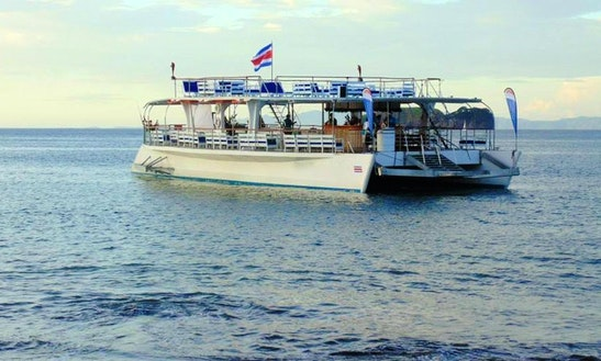 85' Sailing Catamaran Yacht In Costa Rica