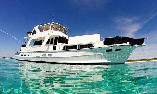 72' Motor Yacht Charter In Playa Del Carmen, Mexico