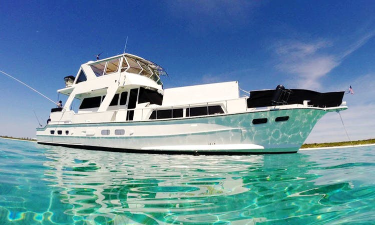 72' Motor Yacht rental in Akumal