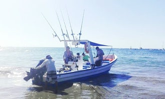 Enjoy Fishing, Snorkeling or Surfing in Tamarindo, Costa Rica on Center Console