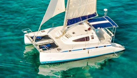 Pachanga 40' Catamaran Charter In Cancún, Mexico