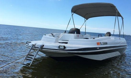 Deck Boat Rental In Cape Coral