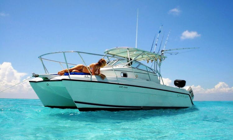 27' Cruising Charter in Playa del Carmen, Mexico