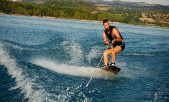 Enjoy Wakeboarding In Taurito, Spain