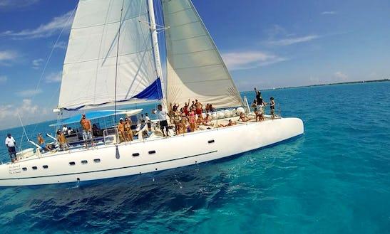 Sea Passion I  Ii 75' Catamaran Charter In Cancún, Mexico
