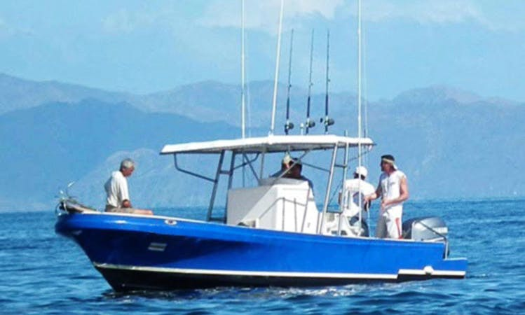 """Fishing Charter on the """"Bahamas"""" in Costa Rica"""