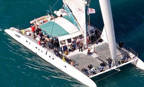 Charter 79' Candle Cruising Catamaran In Dénia, Spain