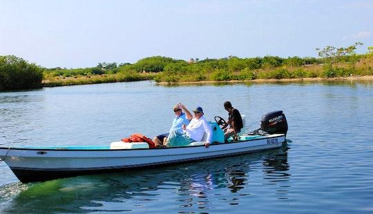 Enjoy Fishing In Placencia, Belize On 23' Skiff