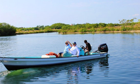 Enjoy Fishing In Placencia, Belize On 23' Skiff