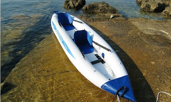 Rent Pathfinder Inflatable Kayaks in Split - Sibenik Area, Croatia