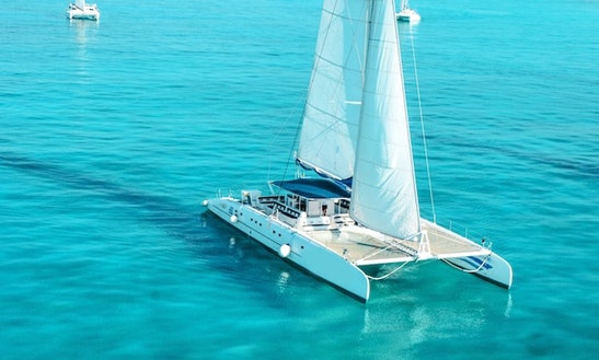 Enjoy 75' Catamaran Charter In Cancún, Quintana Roo