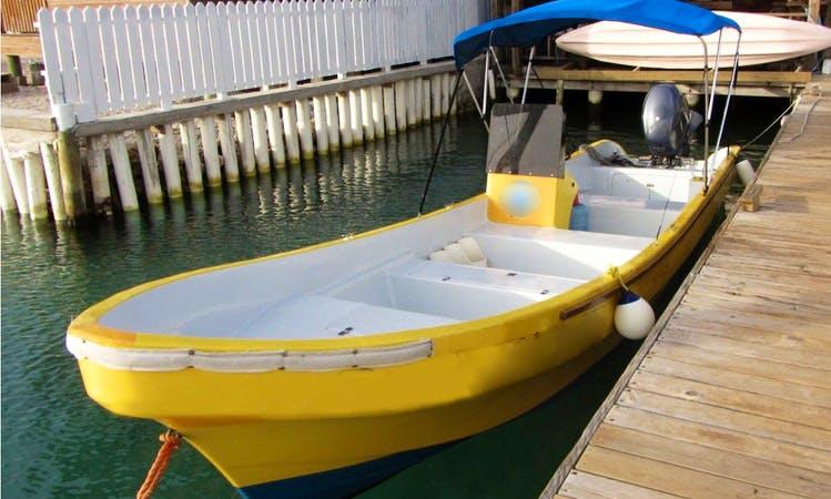 28' Skiff Dive Boat In Utila