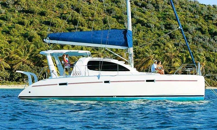'Palometa' Leopard 47 Catamaran Charter in Belize
