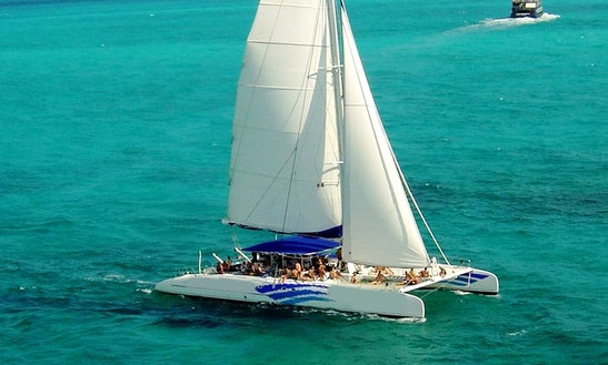 Charter 75' Sea Passion Ll Cruising Catamaran In Cancún, Mexico