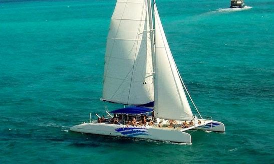 Charter 75' Sea Passion Ll Cruising Catamaran In Cancún, Mexico