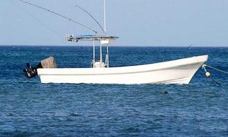 "27' Super Panga Center Console ""Tin Tin"" Fishing Charter in El Gigante, Nicaragua"