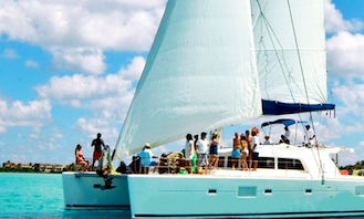 Cruising Catamaran Charter for up to 99 people in Quintana Roo, Mexico