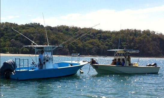 Fishing Boats In Costa Rica
