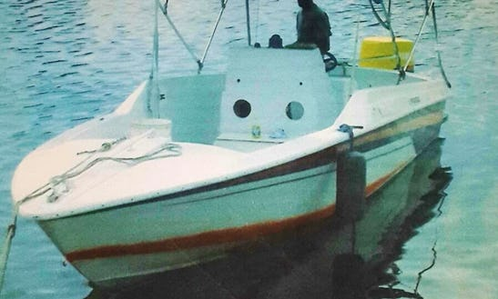 Fishing And Other Water Activities In Nassau, Bahamas On Center Console