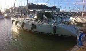 "Charter 41ft ""Amelie"" Beneteau First 41S5 Sailing Yacht In Gosport, England"