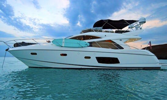 Sunseeker 55' La Paz Mexico - Luxury Yacht For Cruising The Sea Of Cortez