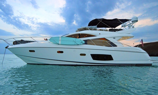 Sunseeker 55' La Paz Mexico - Luxury Yacht For Cruising The Sea Of Cortez