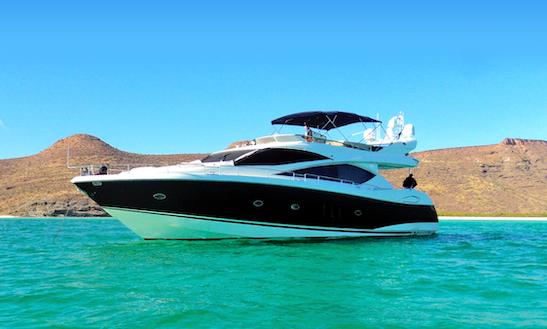 Sunseeker 75' - La Paz Mexico - Luxury Yacht For Cruising The Sea Of Cortez