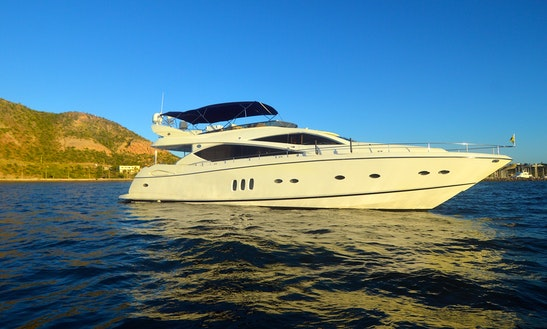 Sunseeker 80' La Paz Mexico - Luxury Yacht For Cruising The Sea Of Cortez