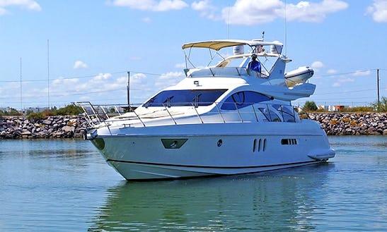 Azimut 55' La Paz Mexico - Luxury Yacht For Cruising The Sea Of Cortez