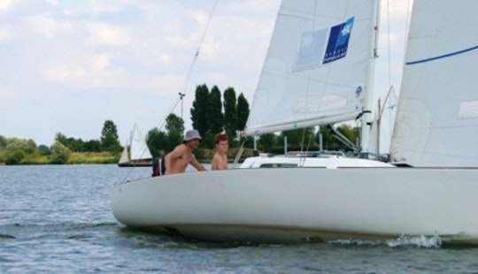 Enjoy Sailing On Belgian Limburg On J-22 Sailboat